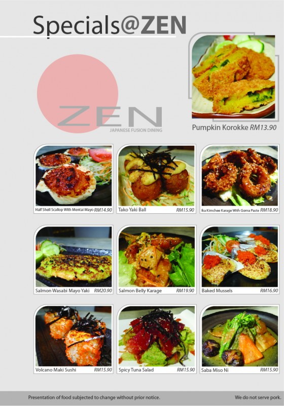 Zen Japanese Fusion Dining